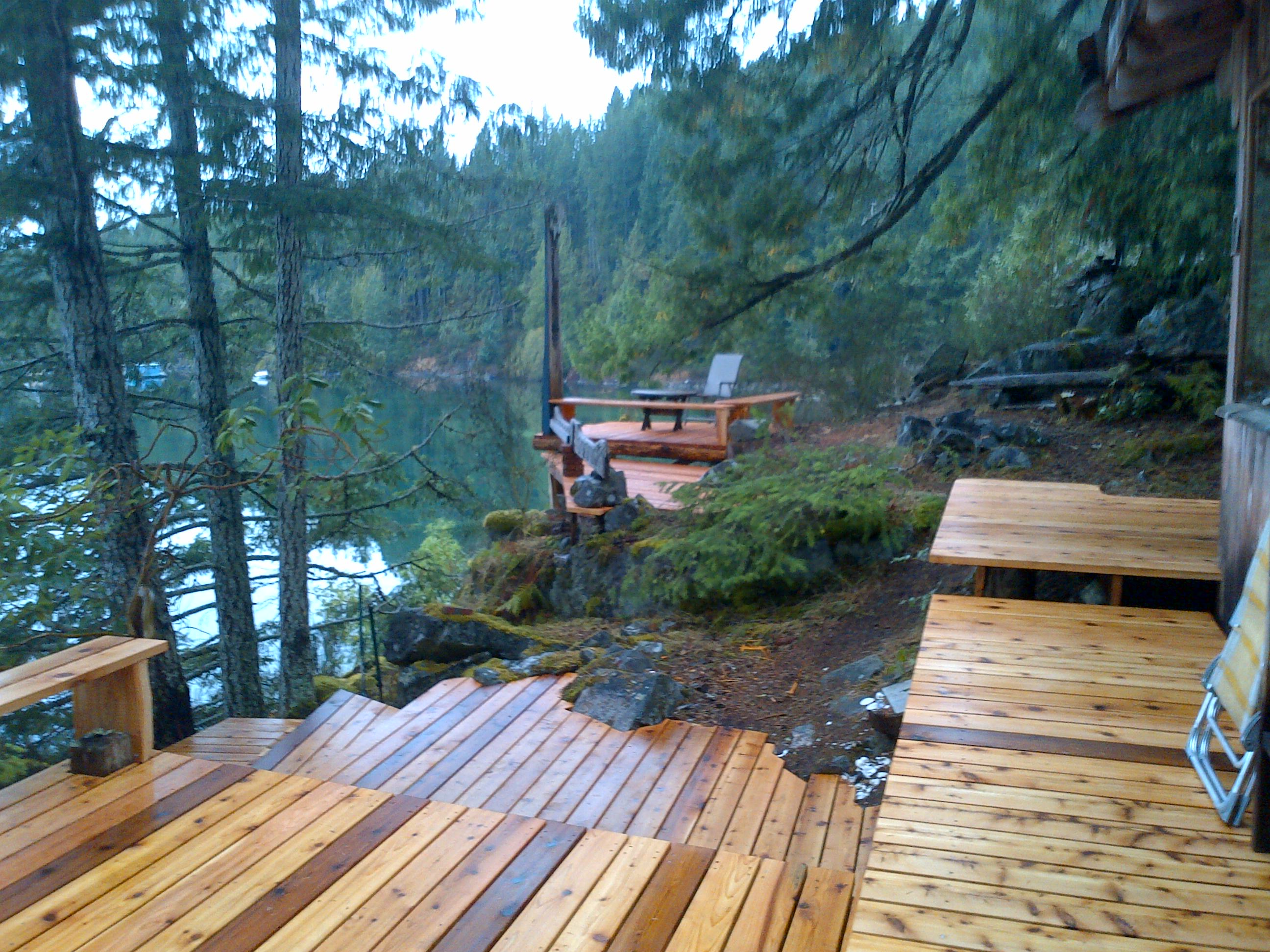 Cortes Island Gorge Harbour Waterfront Cabin